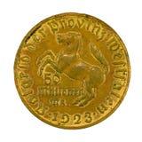 50百万德国人德国马克硬币1923正面 库存照片