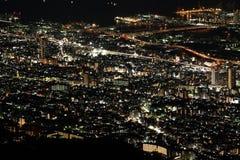 10百万美元神户夜视图  图库摄影