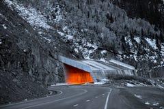 百万美元高速公路在科罗拉多 图库摄影