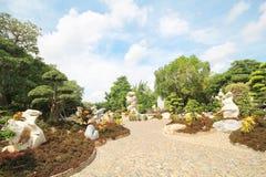 百万年石公园,芭达亚泰国05 5月2013 免版税图库摄影