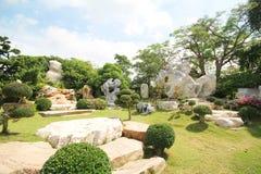 百万年石公园,芭达亚泰国05 5月2013 库存图片