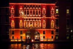 百人队队长宫殿,威尼斯,意大利 库存图片