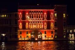 百人队队长宫殿,威尼斯,意大利 库存照片