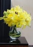 百合花束 库存图片