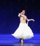 百合Quickstep这奥地利的世界舞蹈 库存照片