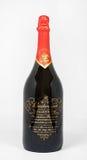 百威千年有限版1999瓶 免版税库存图片