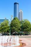 百年奥林匹克公园,亚特兰大, GA 免版税库存照片