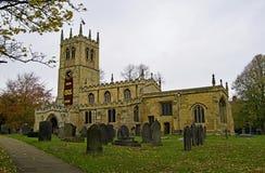 百年鸦片在圣皮特圣徒・彼得的教会,Conisbrough,唐卡斯特显示2 免版税库存图片