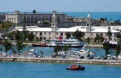 百慕大人有历史的端口 库存照片