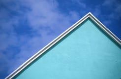 百慕大教会深青色 免版税库存照片