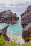 百慕大海岸线 免版税库存照片