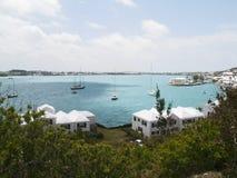 百慕大港口 库存照片