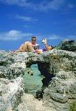 百慕大烟草海湾 免版税库存图片
