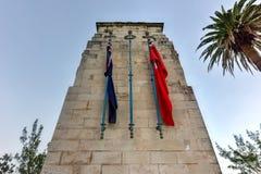 百慕大纪念碑 免版税库存图片