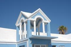 百慕大蓝色 库存照片