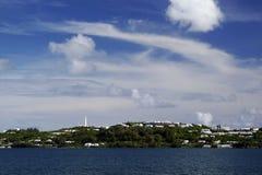 百慕大gibb小山灯塔s 免版税库存图片
