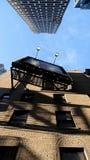 百老汇海报在曼哈顿,NYC 免版税图库摄影