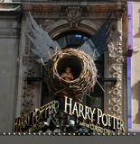 百老汇的哈利・波特 免版税库存照片