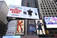 百老汇签到曼哈顿 免版税库存图片