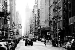 百老汇,纽约 库存图片
