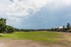 百年公园在悉尼,澳大利亚 广角 免版税库存照片