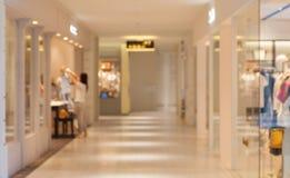 百货商店内部抽象背景  图库摄影