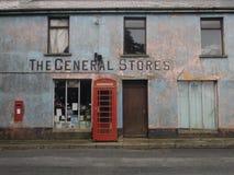 百货商店在威尔士英国 免版税库存图片