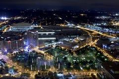 百年奥林匹克公园-亚特兰大,佐治亚 免版税图库摄影