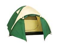 去的两个人圆顶帐篷野营 图库摄影