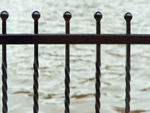 锻件的元素,加工铁篱芭 图库摄影