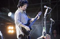 从活的十东的史蒂夫Lukather 免版税库存图片