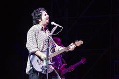 从活的十东的史蒂夫Lukather 图库摄影