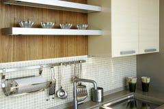 整洁的厨房 库存图片