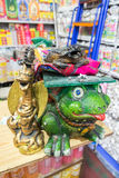 死的吸烟青蛙 免版税图库摄影