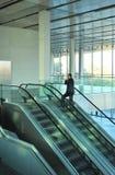 去的商人自动扶梯,会议中心,业务会议 库存图片