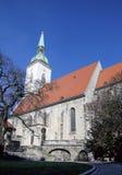 St Martins大教堂,布拉索夫,斯洛伐克 免版税库存照片