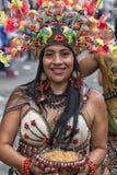 从他的女性舞蹈家亚马逊地区 库存照片