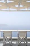 2的安静的大阳台 图库摄影