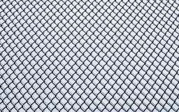 冻结的小链子链接篱芭样式 库存图片