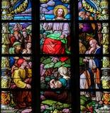 的山上布道耶稣基督 免版税库存图片