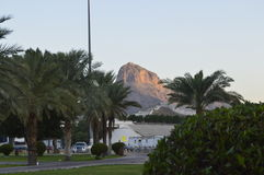 轻的山jabal alnnur,在Makkah 库存照片