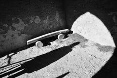 轻的影子 古老安排 免版税库存图片
