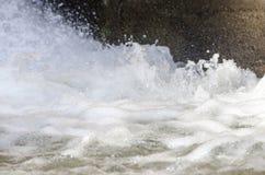 水的急流形式 库存图片