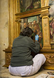 绘画的恢复在麦地那 库存照片