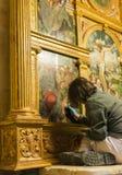 绘画的恢复在麦地那 库存图片