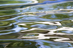 水的抽象表面 库存图片