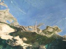 水的抽象 免版税库存照片