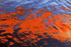 水的抽象 库存图片