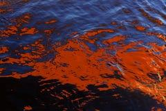 水的抽象 图库摄影
