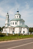 介绍的教会在上帝的母亲寺庙的在Spi 库存照片